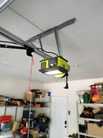 Garage door service, repair, and opener installation
