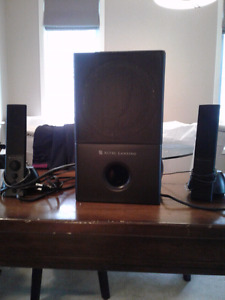 Altec Lansing 2 pc. Computer Speakers with Sub-Woofer - $50 obo