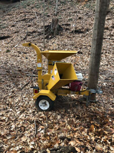 Wallenstien BXMT3213 wood chipper for sale