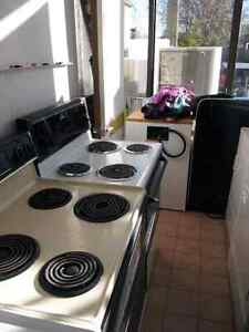 12 electric stove 50-60 each fridge-washer and dryer