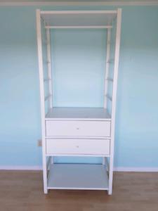 IKEA Elvarli open wardrobe