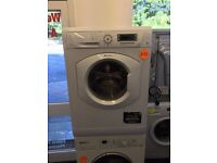 **White Hotpoint 8kg washing machine**Free Delivery**Fitting**Removal