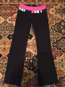 Size 4 petite reversible lululemon black pants.