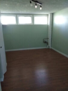 Semi-basement bed room and living room for rent