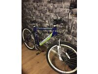 COYOTE BLUE RIDGE MENS MOUNTAIN BIKE used once as new cost over £200