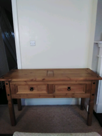 Sideboard with matching coffee table