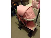Silver cross buggy - pink