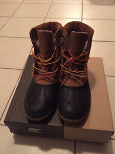 Sorel Men's Winter Boots - Cheyanne Lace Full Grain - Size 10