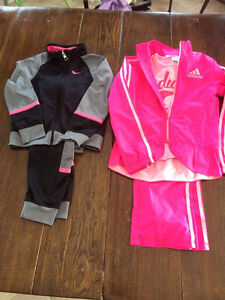 Track suit Nike and Adidas 15$ each