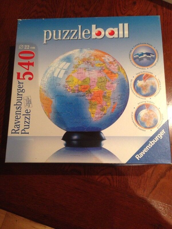 Ravensburger world map puzzle ball in farnborough hampshire gumtree ravensburger world map puzzle ball gumiabroncs Choice Image