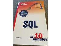 Teach Yourself SQL in 10 minutes