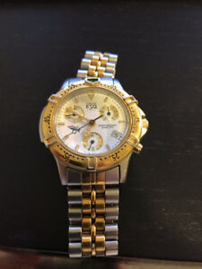Esquire Watch - Two Tone (Gold/Silver). Rare watch