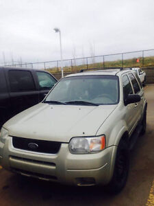 2004 Ford Escape Limited (top model) good shape