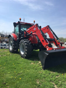 McCormick X7.440 tractor with loader