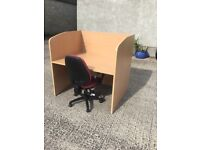 Beech examination desk