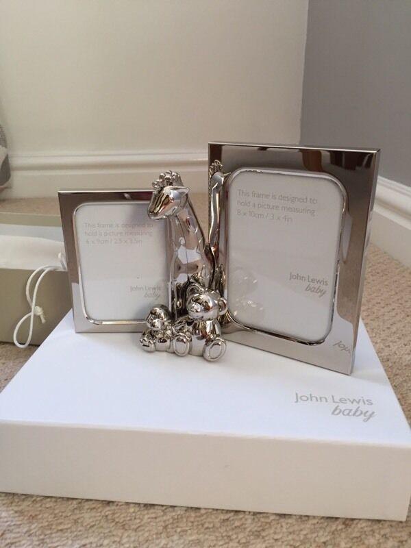Brand new John Lewis baby photo frame