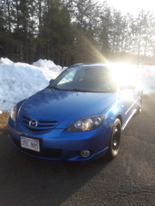 2006 Mazda 3 Sport GT Hatchback 2.3L Manual