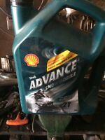 Snowmobile oil never opened