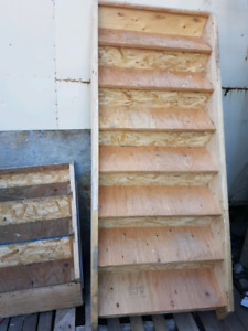 3 sets of Decks Stairs