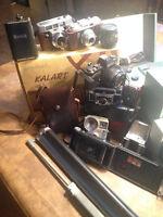 LOT Camera Kodak & Konica et +  & projecteur film & diapositive