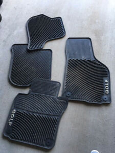 4 Volkswagen Golf winter mat
