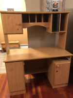Desk with Hutch for Sale