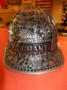 Mc Donald T Miners Hard/Safety Hat Hand Hammered/Push Engraved
