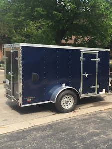 Only $3000  2016  5'x10'Continental Cargo trailer