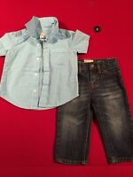 Old Navy 12-18 month jeans and shirt