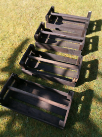 **SOLD** 4 Old Potato/Vegetable Crates
