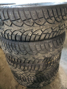 Continental Ice Contact 225/70/16 Winter Tires Pneus Hiver 8/32