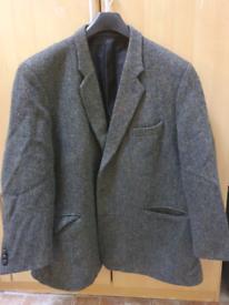Jacket Brook and taverner Harris Tweed wool blazer