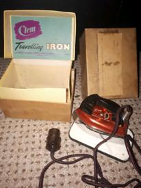 Clem travelling iron