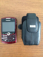 Blackberry Curve 8330 cell phone.