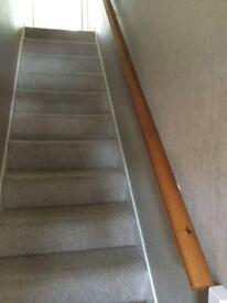 Balustrades/hand stair rail in pine