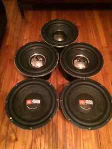 JBL Audio subs for sale