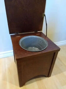 Never been used Antique Chamber Pot