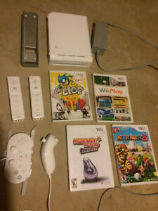 Wii for sale with games!