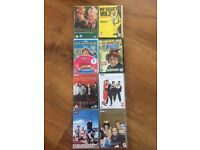 Selection of comedy Dvd's