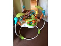 Jumperoo bouncer and playmat