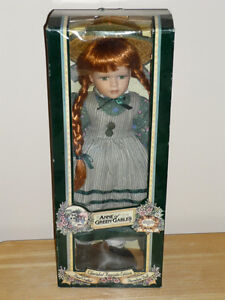 Anne of Green Gables Doll .. Like NEW .. In original box Cambridge Kitchener Area image 1