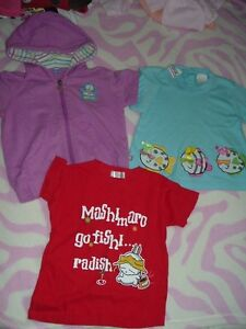 5T Girl's --- Short-Sleeve tops (9 pieces for $15)