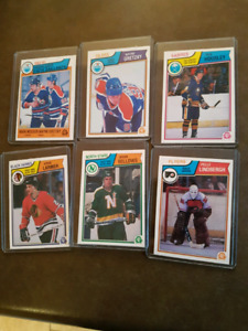 1983-84 OPC HOCKEY CARD SET FOR SALE Excellent Mint Condition