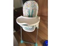 Mothercare multi position highchair
