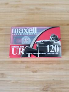 Maxell audio cassettes
