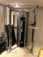 Home Gym- Hoist V6 Personal Pulley Gym with bench