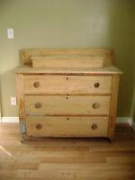 BEAUTIFUL Antique Dresser & STUNNING Rare Trunk & MORE!