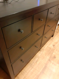 Free Local Delivery IKEA Double Hemnes Chest of Drawers