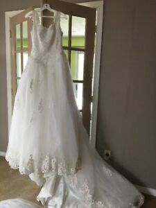 Wedding Dress with accessories