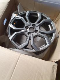 Fiesta St alloy wheel